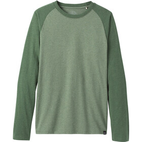 Prana Baseball Raglan T-Shirt Herren canopy heather